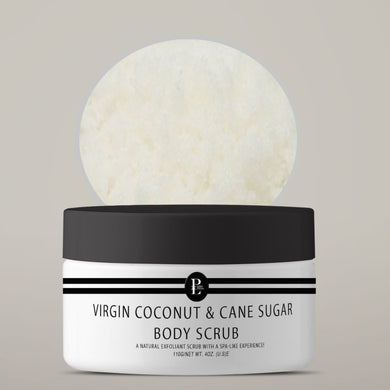 VIRGIN COCONUT & CANE SUGAR BODY SCRUB