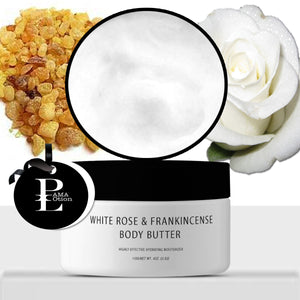 WHITE ROSE & FRANKINCENSE BODY BUTTER