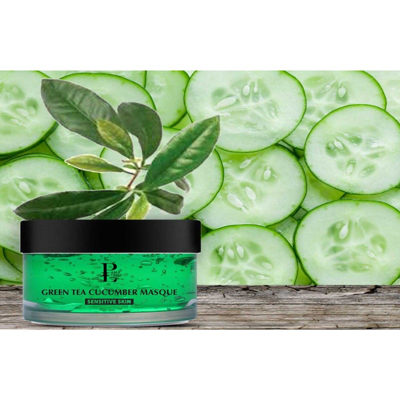 GREEN TEA & CUCUMBER - MASQUE