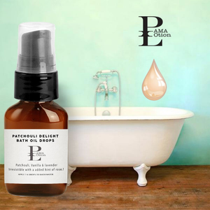 PATCHOULI DELIGHT - BATH OIL DROPS