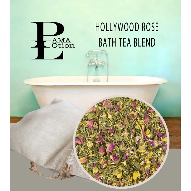 HOLLYWOOD ROSE - BATH TEA BLEND