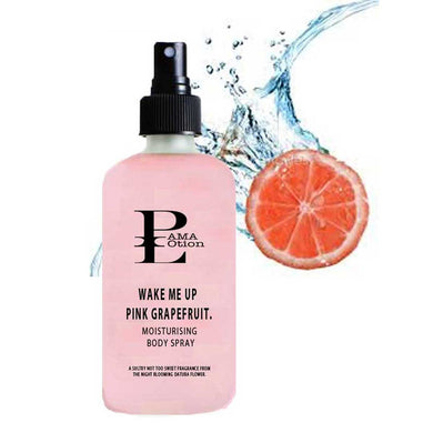 WAKE ME UP-PINK GRAPEFRUIT MOISTURIZING BODY SPRAY