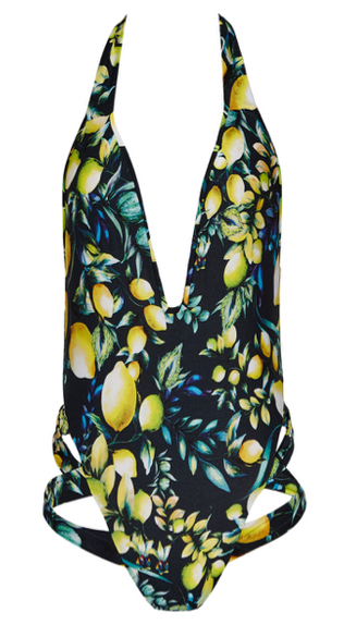 SATO DARK LEMON PRINT
