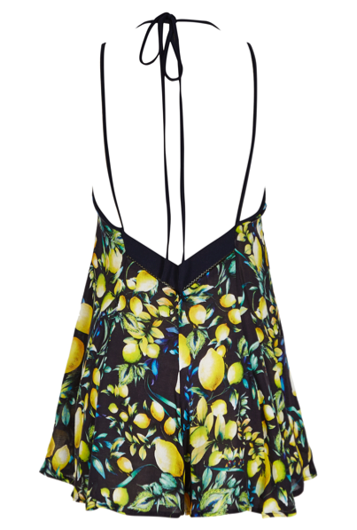 LANA DARK LEMON PRINT