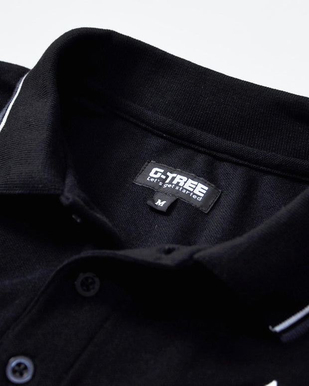 M-Polo Shirt-Short Sleeve-G10309068 - G-Tree Clothing