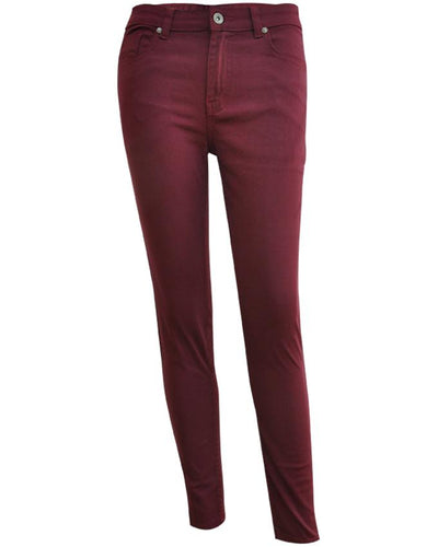 F-Long Pant-Skinny-G22003227 - G-Tree Clothing