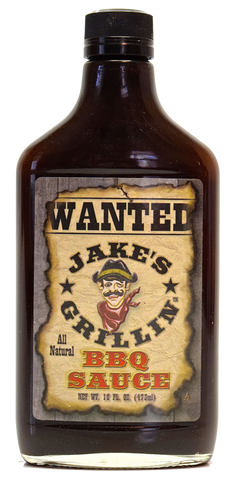 Jake's Grillin' Coffee BBQ Sauce