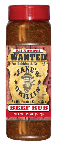 Jake's Grillin' Beef Rub Grande - Dry Steak Rub