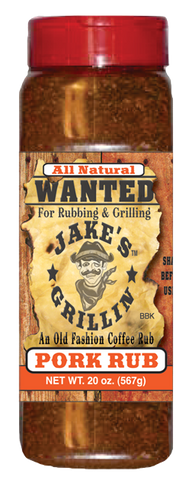 Jake's Grillin' Pork Rub, Grande 20oz Bottle