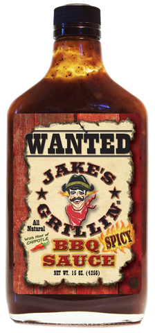 Jake's SPICY Coffee BBQ Sauce