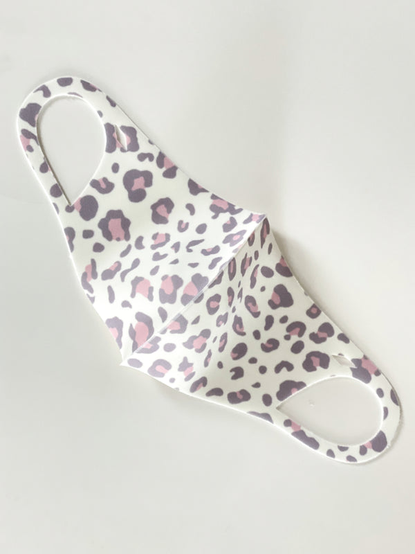 Mama & Me Leopard Antibacterial Face Mask Set