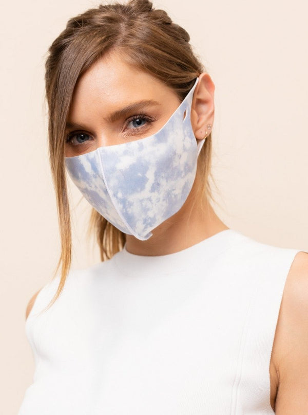 Clouds Antibacterial Face Mask