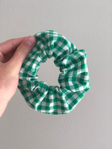 """Gingham Style"" Scrunchie"