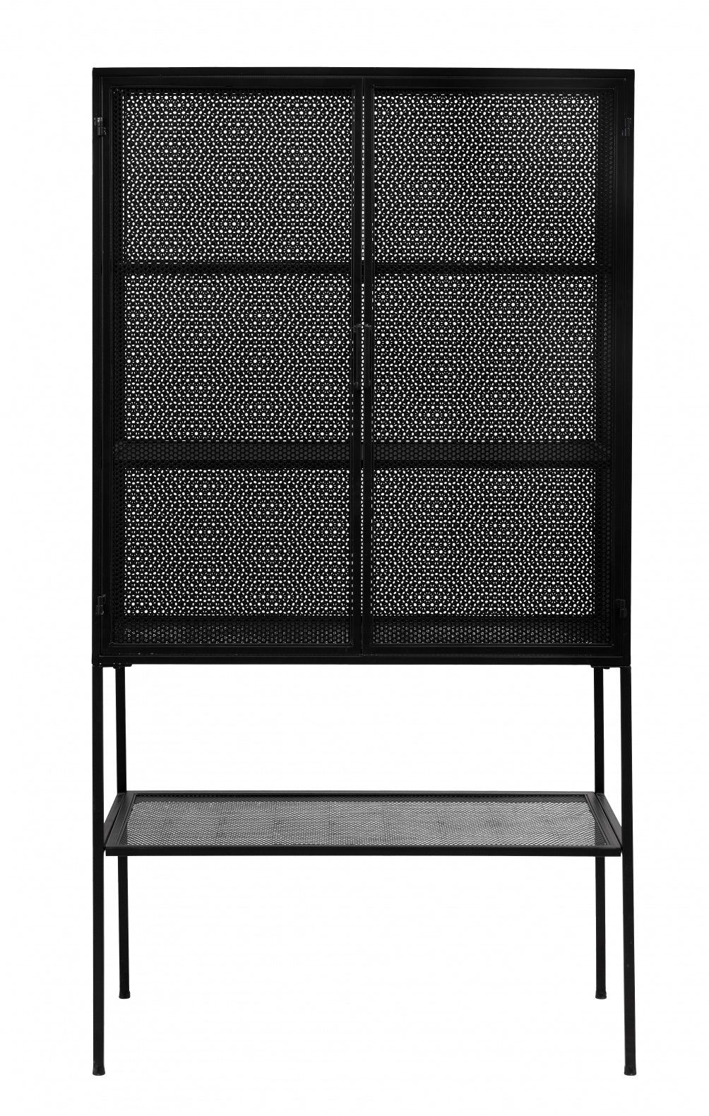 Wire Cabinet  , Black - SAK Home