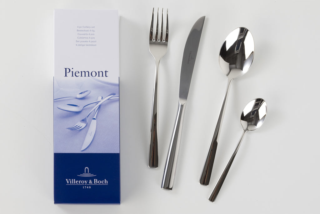 Villeroy & Boch Piemont Cutlery - Set of 4