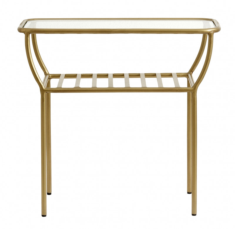 Chic Side Table  - Golden - SAK Home
