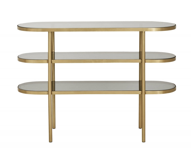 Luxury Oval Console Table - SAK Home