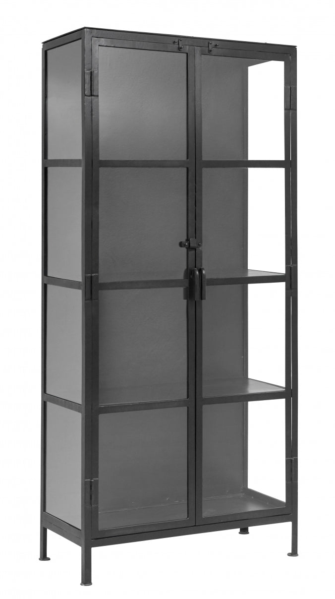 Phonenix Cabinet , Black - SAK Home
