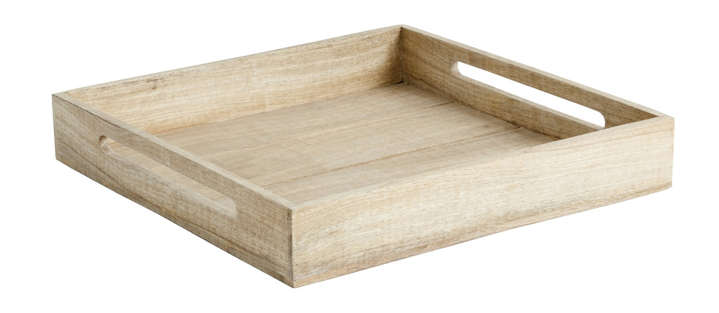 Wooden Tray with Handles - SAK Home