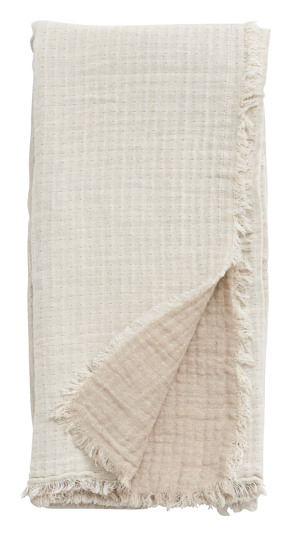 Cotton Shawl Off White/Beige