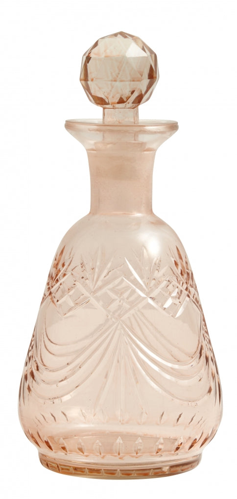 Decanter Lamu Glass , Small - SAK Home