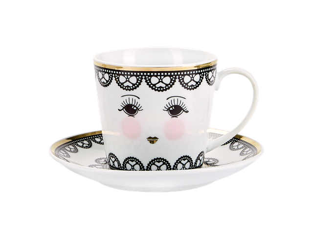 Miss Etoile Lace Coffee Mug - SAK Home