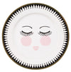 Miss Etoile Closed Eyes Icons Side Plate 19cm - Set of 4