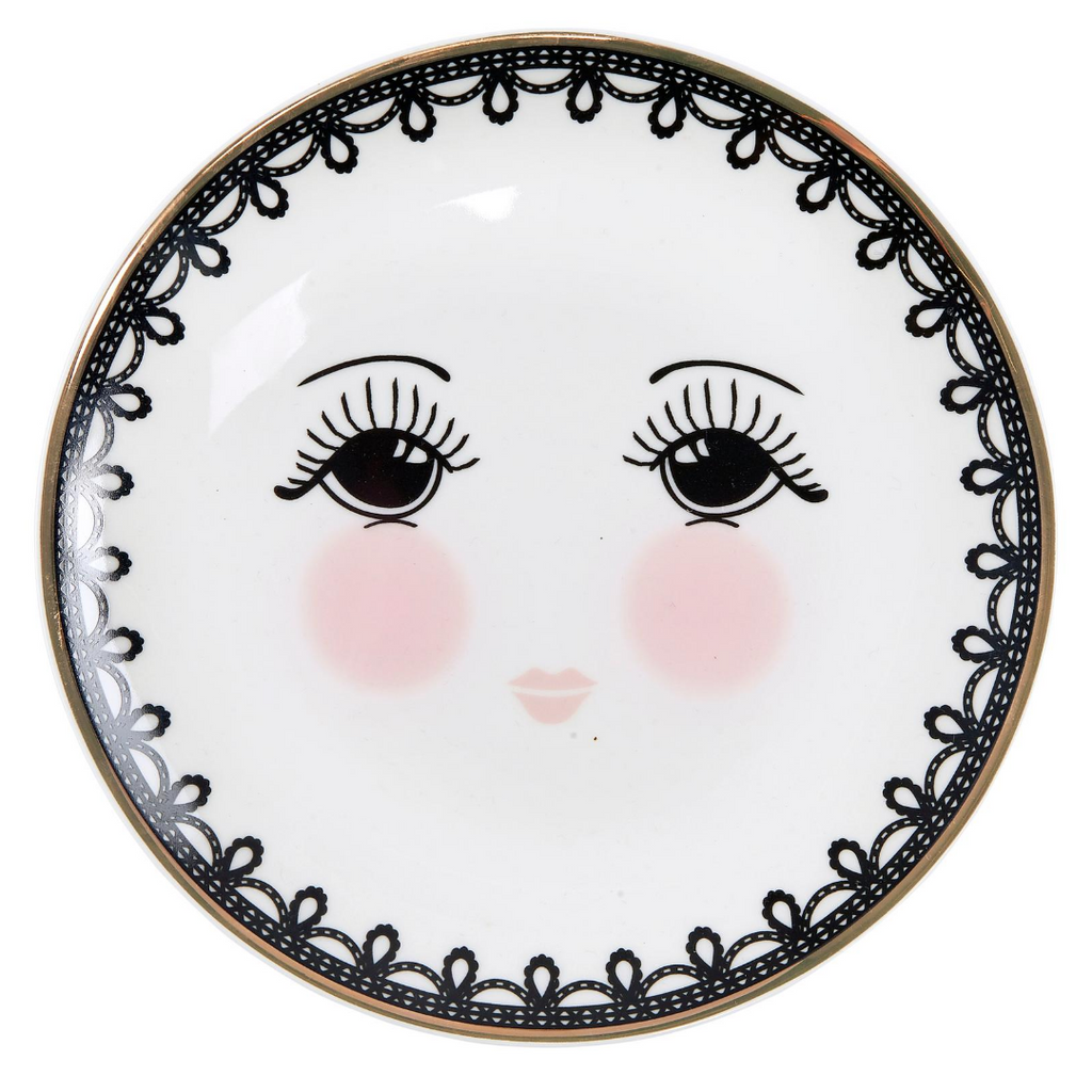 Miss Etoile Lace Plate - SAK Home