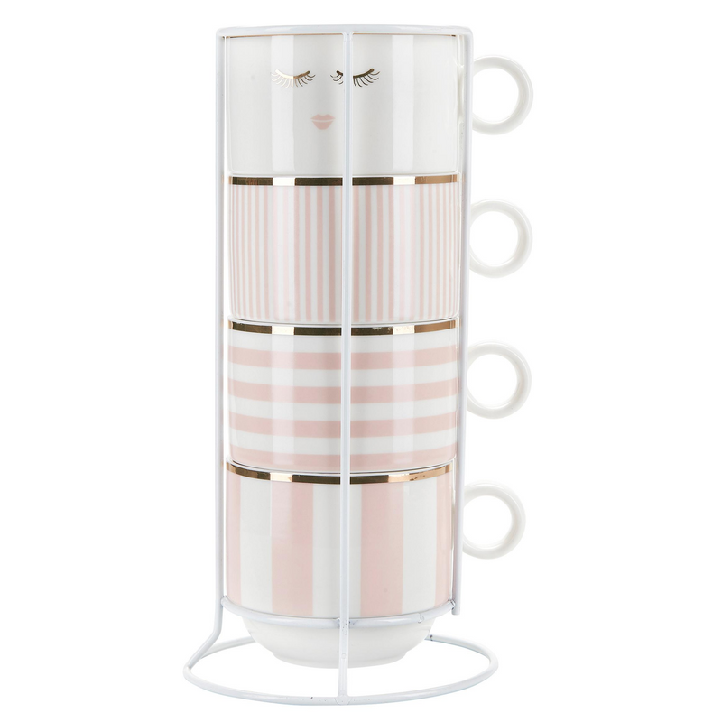 Miss Etoile Closed Eyes and Stripes - SAK Home