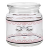 Miss Etoile Closed Eyes Lace Jar Glass - SAK Home