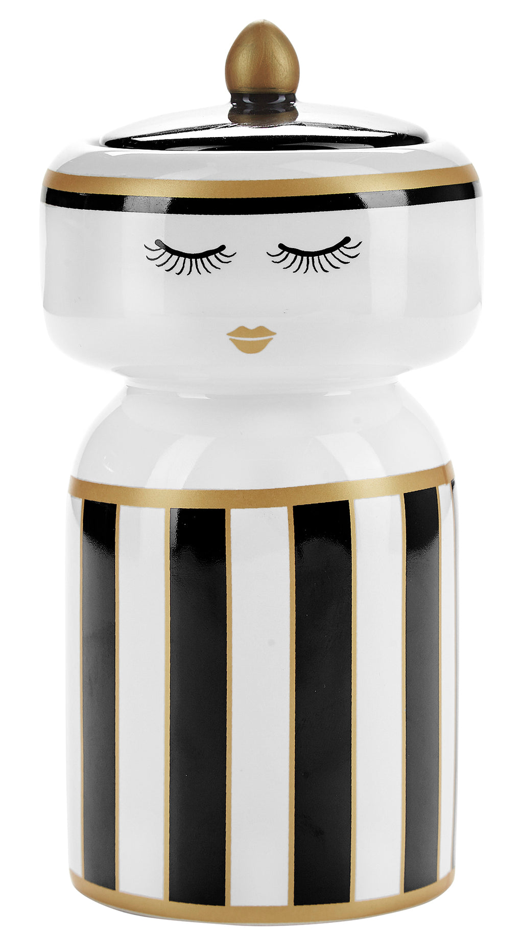 Miss Etoile Jar with Stripes