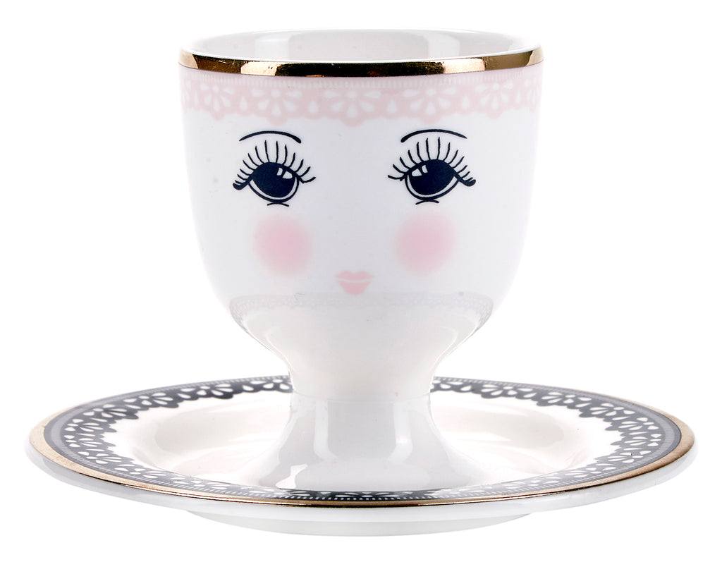 Miss Etoile Lace Egg cup - SAK Home
