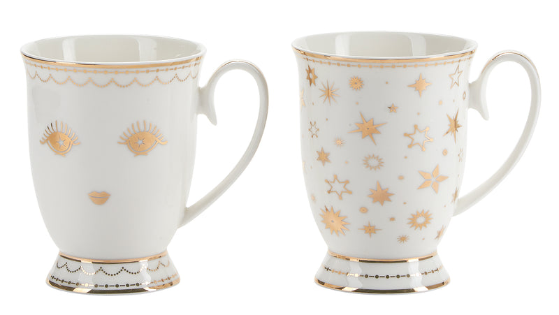Miss Etoile Icons Coffee Mug - Set of 2