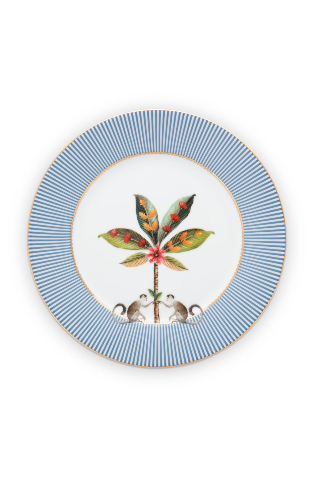 Pip Studio La Majorelle Plate 21cm- Set of 4