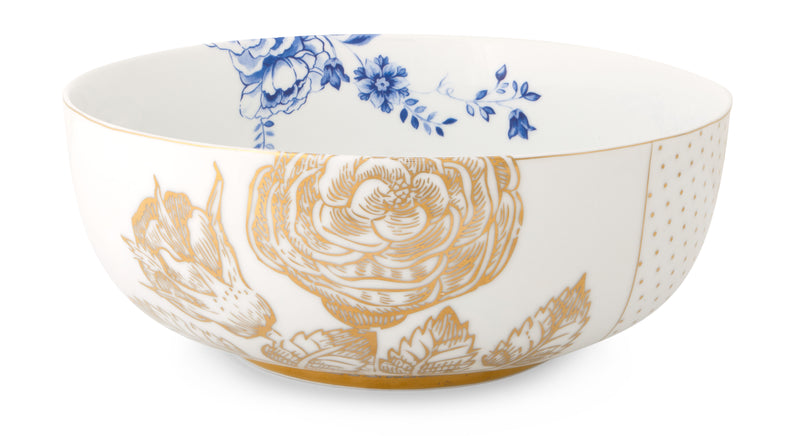 Pip Studio Royal White Bowls 23cm