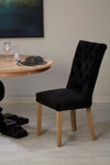 Kensington Townhouse Dining Chairs - Black