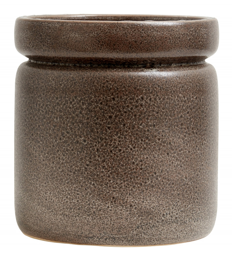 ISA  Pot , Brown Matt - SAK Home