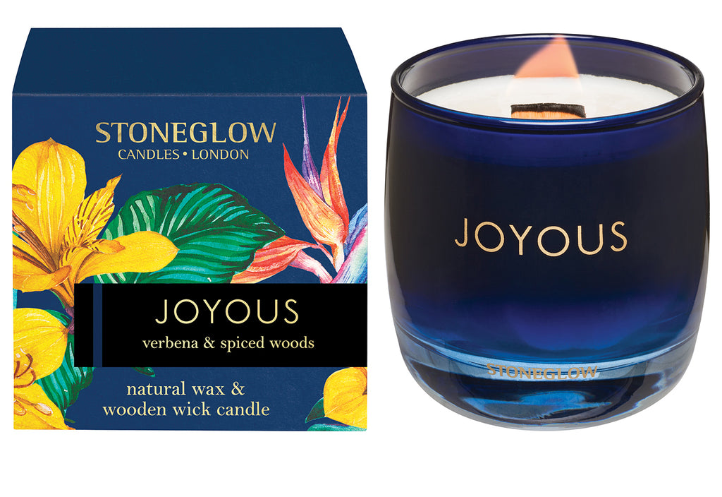 Stoneglow Verbena & Spiced Woods Infusion - Candle (Navy)