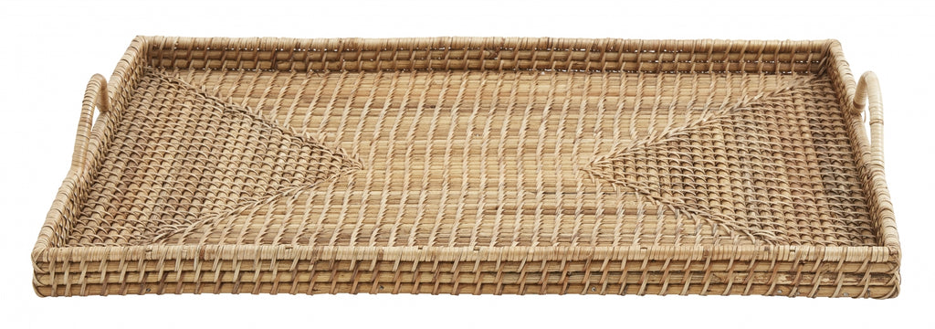 Rattan Tray , Square - SAK Home