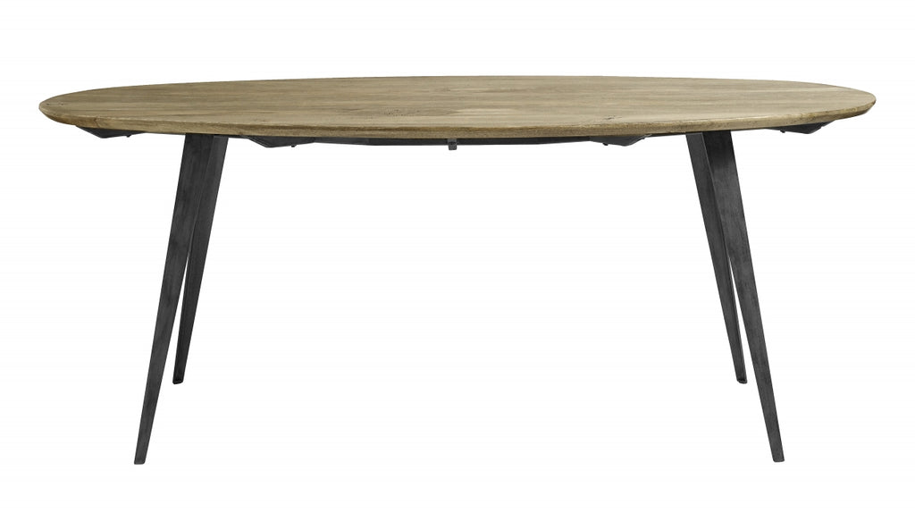 Scandia dining Table, Oval - SAK Home