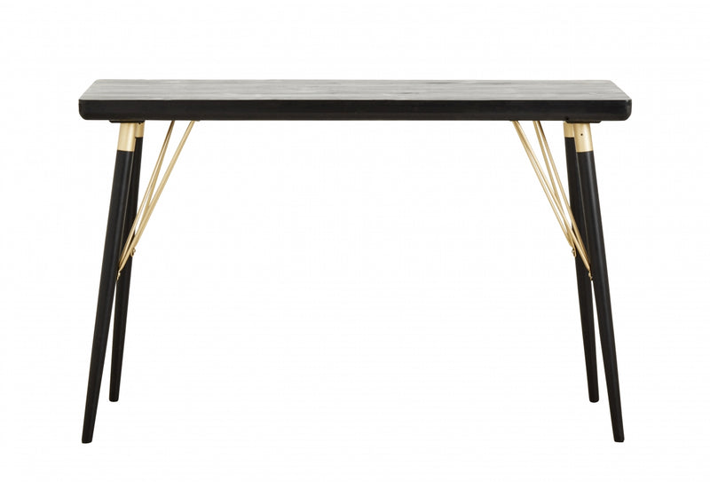 Console Table - Black Wood - SAK Home