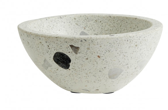 Terrazzo Bowl with Large Chips , Small - SAK Home