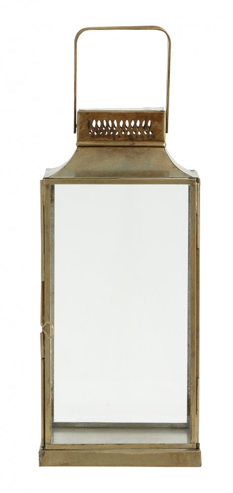 Antique Lantern, Square, Small - SAK Home