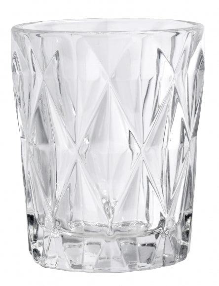 Diamond Drinking Clear Glass - SAK Home