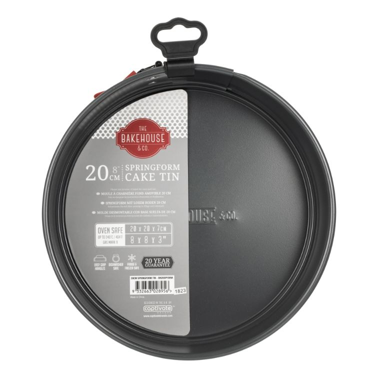 BAKEHOUSE 20CM NON-STICK SPRINGFORM LOOSE BASE - SAK Home