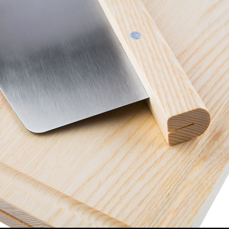 BAKEHOUSE ASH CHOPPING BOARD & ROCKER CUTTER - SAK Home