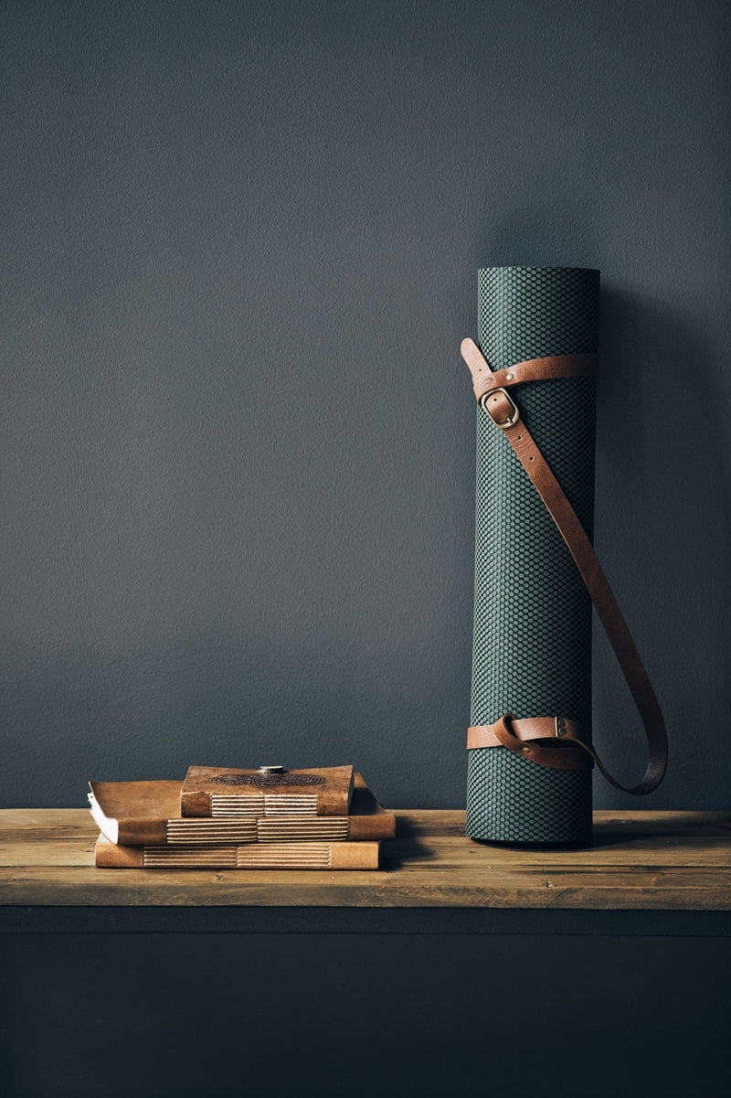Yoga Leather Strap for Mats