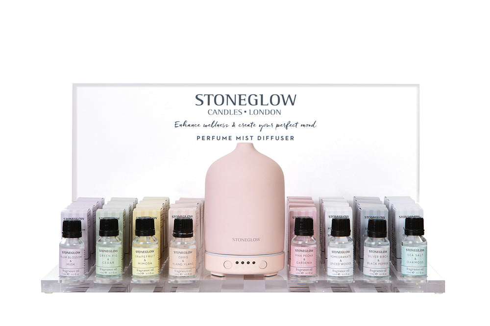 Stone.glow Diffuser - Pink