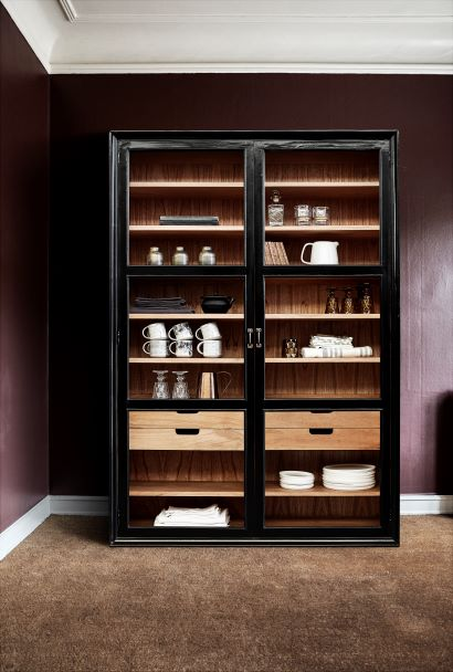 Viva Display Cabinet with Glass
