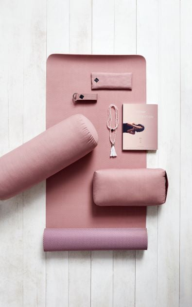 Yoga Meditation Bolster- Rose